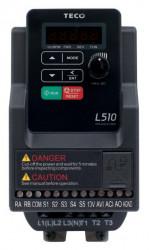 Frekvenèní mìniè 0,4kW TECO L510-2P5-SH1F-P 1x230V