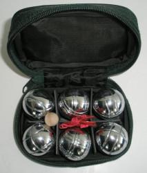 Koulená MINI Petanque 6 koulí v nylonovém pouzdru
