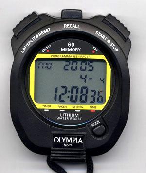 Stopky elektronické OLYMPIA 60