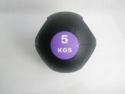 Míč MEDICINÁLNÍ DUAL GRIP 5kg