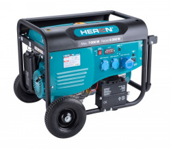 HERON 8896421 elektrocentrála benzínová 7,0kW/15HP, pro svařování, elektrický start