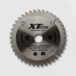 350x30 mm 100 zubů Pilový kotouč XTline trapézový
