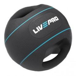 Míč MEDICÍN DOUBLE GRIP LivePro 5kg