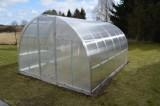KYKLOP 3x4m skleník 12m2 PC 4mm + teplomìr, tyèe, èis. prostø.