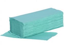 Papírové ruèníky ZIK-ZAK, 1-vrstvé 5000ks, zelené