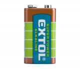 Baterie 9V 6LR61 alkalická 1ks EXTOL