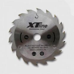 400x2,8x30 (16, 20, 25,4)mm Pilový kotouč XTline 80zubů SK plátky