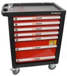 FIXMAN 7 Montážní vozík na náøadí 7 zásuvek