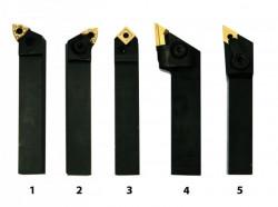 Soustružnické nože HM 16 mm sada 5 ks