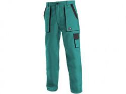 Kalhoty do pasu CXS LUXY ELENA dámské zeleno-černé