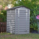 Skylight 4x6 šedý zahradní domek 2,2m2 177x122cm