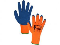 INDUSTRY ROXY WINTER rukavice zimní máčené v latexu, vel. 10 1 pár - PRODEJ PO 12 párech