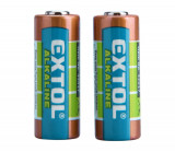 Baterie 12V 23A alkalické 2ks EXTOL