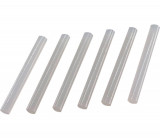 11x100 mm 6ks Lepící tavné tyèinky bílé