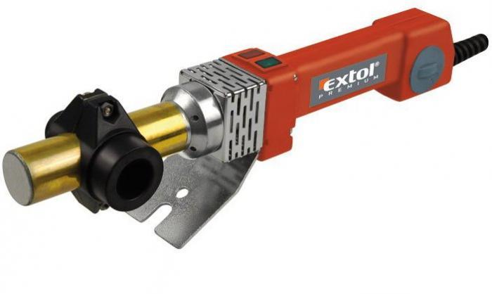 EXTOL svářečka na plastové trubky 16-32mm 800W