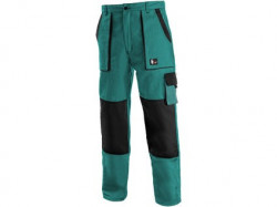 Kalhoty do pasu CXS LUXY JAKUB, zimní, pánské, zeleno-èerné