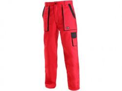Kalhoty do pasu CXS LUXY ELENA dámské, červeno-černé