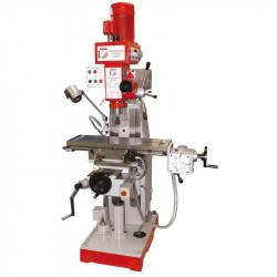 HOLZMANN BF 500 frézka ISO40 posuv 600x230mm + SVĚRÁK, POUZDRA