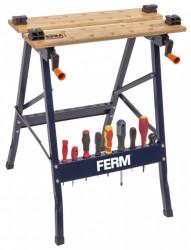 Upínací pracovní stůl Ferm WBM1004, skládací - 150kg