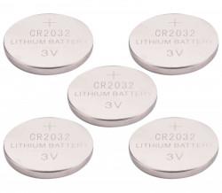 Baterie CR2032 3V lithiové 5ks EXTOL