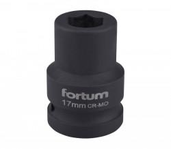"""17mm průmyslová hlavice 3/4"""" FORTUM"""
