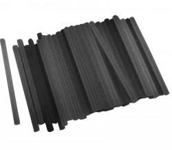 11x200 mm 1kg Lepící tavné tyèinky èerné EXTOL 9913A
