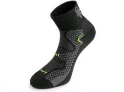 Ponožky CXS SOFT, èerno-žluté
