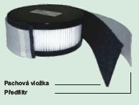 Předfiltr pro filtrační jednotku Clean-Air Basic 2000, 10ks 810015