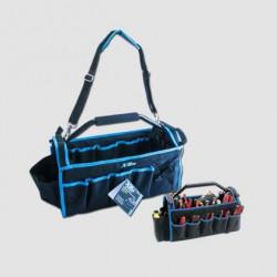 Taška na nářadí s kovovou rukojetí 49x23x28cm XT90050