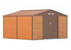 GAH 1085 HNÌDÝ zahradní domek 340x319cm