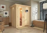 KARIBU NORIN finská sauna vnitøní 1,51x1,51m bez topidla