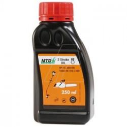 Motorový olej pro 2 taktní motory MTD 250 ml