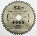 600x30 mm 60zubù Pilový kotouè SK plátky XTline TCT60060 OPR.ZUB