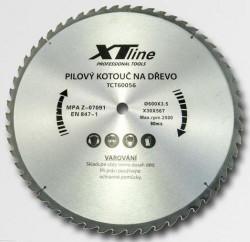 600x30 mm 56 zubů Pilový kotouč SK plátky XTline