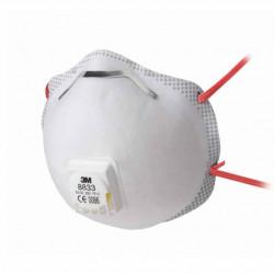 Respirátor 3M 8833 FFP3 s ventilkem - prodej po 10ks