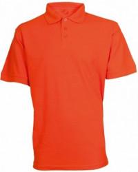Tričko MICHAEL kr. rukáv s límečkem oranžové