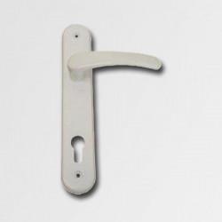 Dveøní kování Michaela K90 bílé dozický klíè
