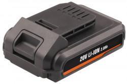 Baterie AKU 20V Li-Ion 2.0Ah pro GTM1003, HTM1002, LBM1010 - FERM CDA1106