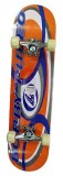 Skateboard 31X8 CN DECK ABEC3 Spartan oranžový