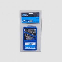 Sada vrtáků do kovu 1-13mm 25dílů HSS-cobalt XTline
