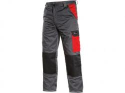 Kalhoty CXS PHOENIX CEFEUS šedo-červená pánské