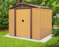 MAXTORE 86 HNÌDÝ zahradní domek kovový 226x162cm