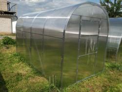 DNÌPR 2,10x3m PC 4mm skleník 6,3m2 + DÁRKY