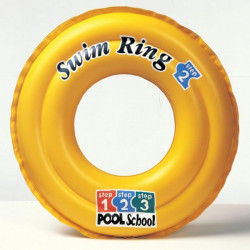 Kruh plavací DELUXE dvoukomorový prům. 51cm