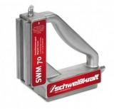 Vypínatelný úhlový magnet 197x197mm 120kg SWM 70
