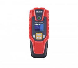 Detektor digitální kovu, vodičů, dřeva EXTOL 8831321