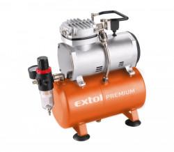 EXTOL PREMIUM AC-S3 kompresor 3L + METR