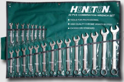 6-32mm HONITON HG11522 Sada očkoplochých klíčů 22ks