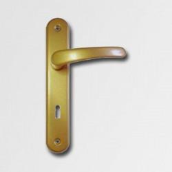 Dveøní kování Michaela V72 zlatá pro vložkový zámek
