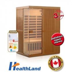 DeLuxe 3300 Carbon infrasauna HEALTHLAND AKCE